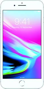 Flipkart offers on Mobiles - Apple iPhone 8 Plus (Silver, 256 GB)