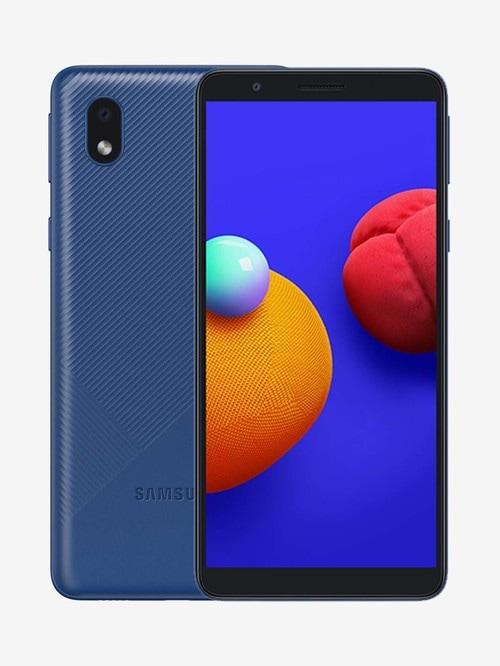 Tata Cliq offers on Mobiles - Samsung Galaxy M01 Core 32 GB (Blue) 2 GB RAM, Dual SIM 4G