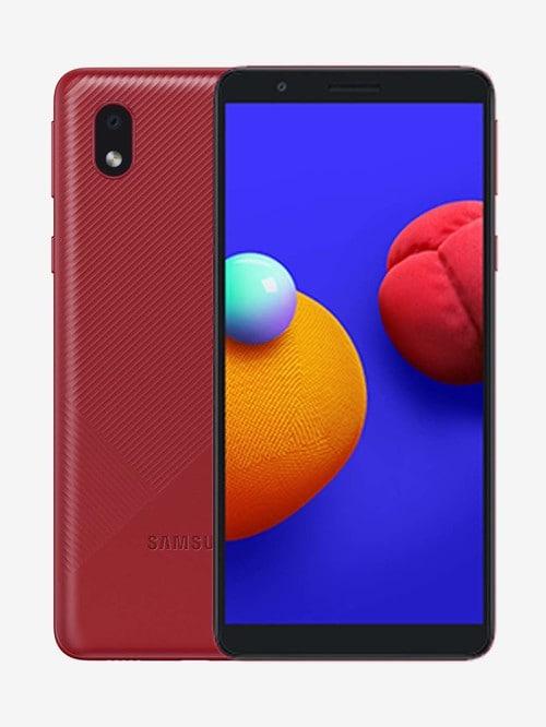 Tata Cliq offers on Mobiles - Samsung Galaxy M01 Core 32 GB (Red) 2 GB RAM, Dual SIM 4G