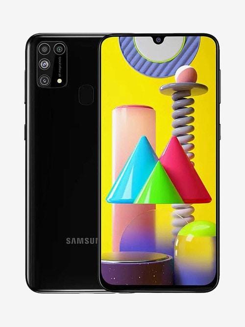 Tata Cliq offers on Mobiles - Samsung Galaxy M31 128 GB (Space Black) 6 GB RAM, Dual SIM 4G
