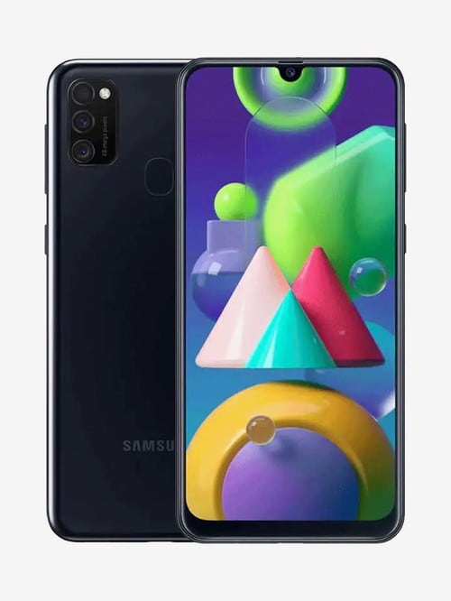 Tata Cliq offers on Mobiles - Samsung Galaxy M21 64 GB (Raven Black) 4 GB RAM, Dual SIM 4G