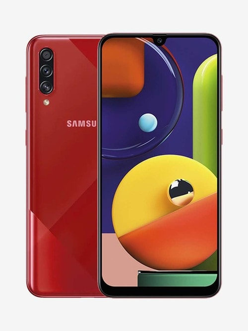 Tata Cliq offers on Mobiles - Samsung Galaxy A70s 128 GB (Prism Crush Red) 6 GB RAM Dual SIM, 4G