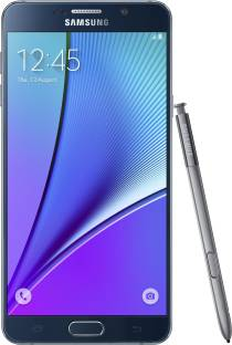 Flipkart offers on Mobiles - Samsung Galaxy Note 5 (Dual Sim) (Black Sapphire, 32 GB) 4 GB RAM