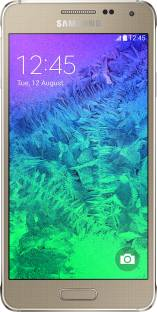 Flipkart offers on Mobiles - Samsung Galaxy Alpha (Frosted Gold, 32 GB) 2 GB RAM