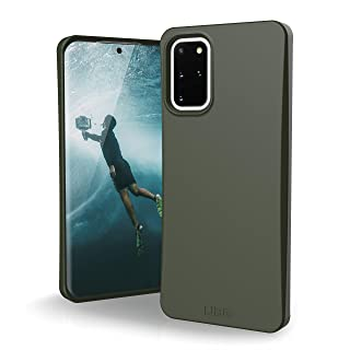 Amazon offers on Mobiles - URBAN ARMOR GEAR UAG Samsung Galaxy S20 Plus Case [6.7-inch Screen] Biodegradable Outback [Olive] Rugged Eco-Friendly Protection Feather-Light Military Drop Tested Case