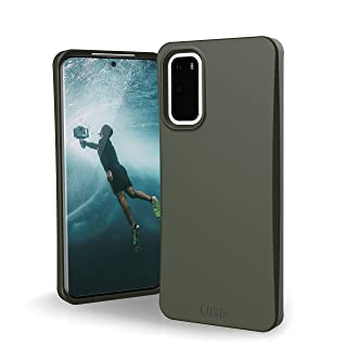 Amazon offers on Mobiles - URBAN ARMOR GEAR UAG Samsung Galaxy S20 Case [6.2-inch Screen] Biodegradable Outback [Olive] Rugged Eco-Friendly Protection Feather-Light Military Drop Tested Case