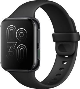 Flipkart offers on Mobiles - OPPO Watch 41 mm WiFi Smartwatch Black Strap, Regular