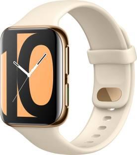 Flipkart offers on Mobiles - OPPO Watch 46 mm WiFi Smartwatch Gold Strap, Regular