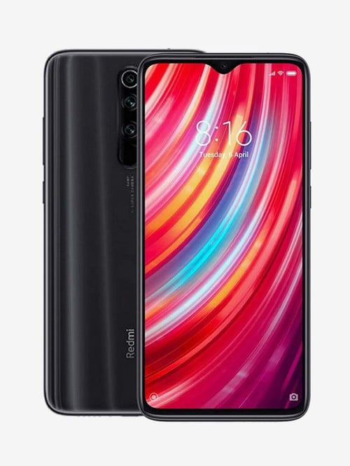 Tata Cliq offers on Mobiles - Xiaomi Redmi Note 8 Pro 64 GB (Shadow Black) 6 GB RAM, Dual Sim 4G