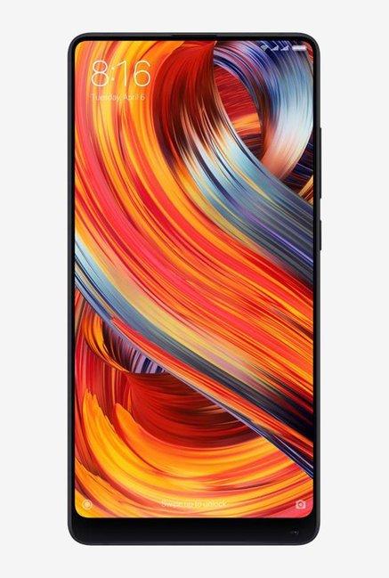 Tata Cliq offers on Mobiles - Xiaomi Mi Mix 2 128 GB (Black) 6 GB RAM, Dual SIM 4G