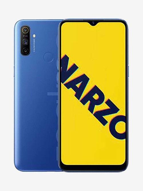 Tata Cliq offers on Mobiles - RealMe Narzo 10A 64 GB (So Blue) 4 GB RAM, Dual SIM 4G