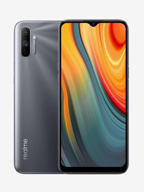 Tata Cliq offers on Mobiles - RealMe C3 64 GB (Volcano Grey) 4 GB RAM, Dual SIM 4G