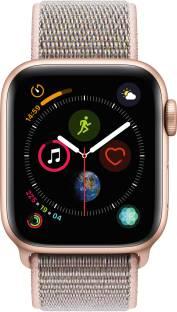 Flipkart offers on Mobiles - Apple Watch Series 4 GPS 40 mm Gold Aluminium Case with Pink Sand Sport Loop Pink Strap, Regular