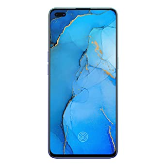 Amazon offers on Mobiles - OPPO Reno3 Pro (Auroral Blue, 8GB RAM, 128GB Storage) Without Offer