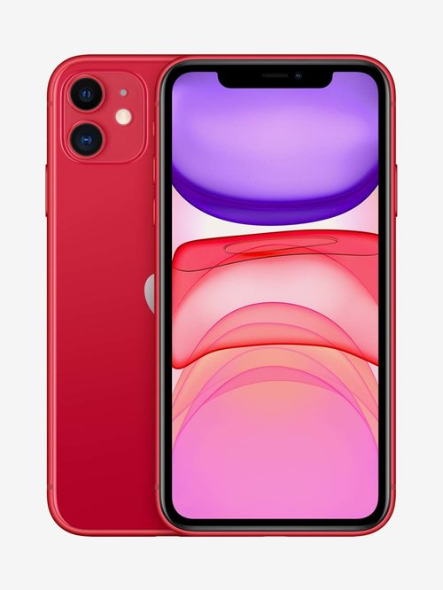 Tata Cliq offers on Mobiles - Apple iPhone 11 (64GB) - Red