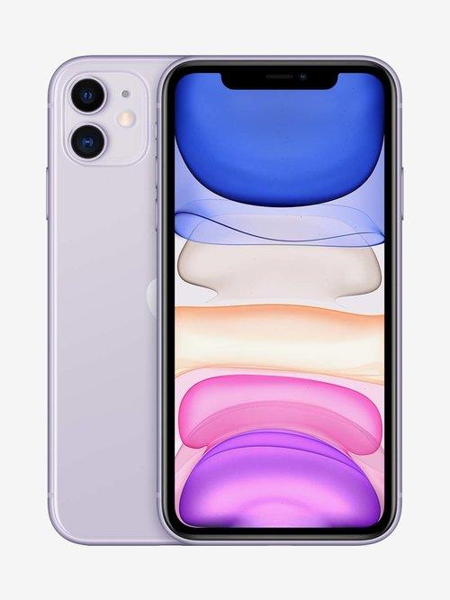 Tata Cliq offers on Mobiles - Apple iPhone 11 (64GB) - Purple