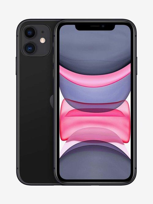Tata Cliq offers on Mobiles - Apple iPhone 11 (64GB) - Black