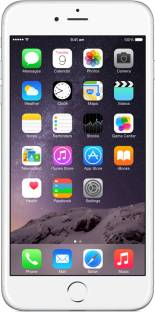 Flipkart offers on Mobiles - Apple iPhone 6 Plus (Silver, 128 GB)