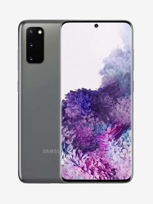 Tata Cliq offers on Mobiles - Samsung Galaxy S20 128 GB (Cosmic Grey) 8 GB RAM, Dual SIM 4G