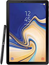 Amazon offers on Mobiles - Samsung Galaxy Tab S4 SM-T835NZKAINS Tablet (10.5 inch, 64GB, Wi-Fi + 4G LTE + Voice Calling), Black