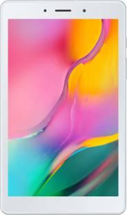Flipkart offers on Mobiles - Samsung Galaxy Tab A 8.0 2GB RAM 32 GB ROM 8 inch with Wi-Fi+4G Tablet (Silver)