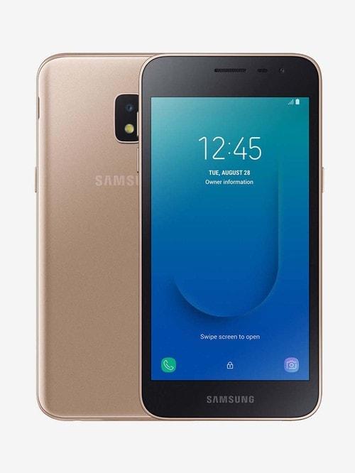 Tata Cliq offers on Mobiles - Samsung Galaxy J2 Core 2020 16 GB (Gold) 1 GB RAM, Dual SIM 4G