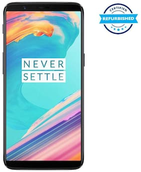 Paytmmall offers on Mobiles - Refurbished OnePlus 5T 6 GB 64 GB Midnight Black (Grade: Excellent)