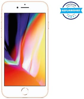 Paytmmall offers on Mobiles - Refurbished Apple iPhone 8 64GB Gold (Grade: Excellent)