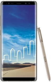 Flipkart offers on Mobiles - Samsung Galaxy Note 8 (Maple Gold, 64 GB) 6 GB RAM