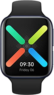 Amazon offers on Mobiles - OPPO Watch 46MM WiFi (Black) with Curved AMOLED Screen, 24 Hours Battery Backup with Smart Mode, in-Built GPS