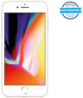 Paytmmall offers on Mobiles - Refurbished Apple iPhone 8 64GB Gold (Grade: Good)