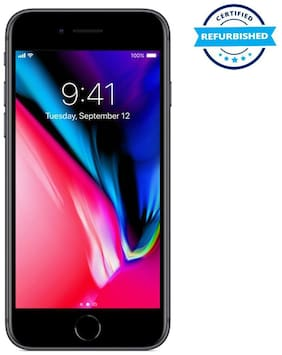 Paytmmall offers on Mobiles - Refurbished Apple Iphone 8 2 GB 64 GB Space Grey (Grade: Good)