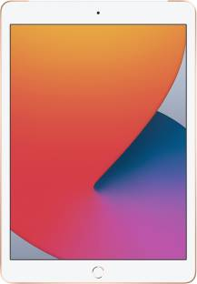 Flipkart offers on Mobiles - Apple iPad (8th Gen) 32 GB ROM 10.2 inch with Wi-Fi+4G (Gold)