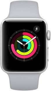 Flipkart offers on Mobiles - Apple Watch Series 3 GPS - 38 mm Silver Aluminium Case with Fog Sport Band White Strap, Regular