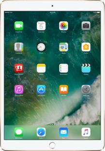 Flipkart offers on Mobiles - Apple iPad Pro 256 GB ROM 10.5 inch with Wi-Fi+4G (Gold)
