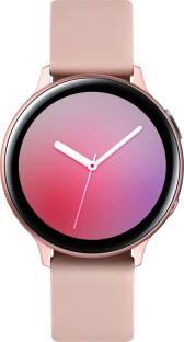 Flipkart offers on Mobiles - Samsung Galaxy Watch Active 2 Aluminium LTE Smartwatch Pink Strap, Regular