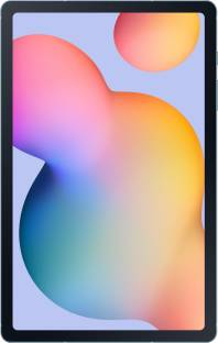Flipkart offers on Mobiles - Samsung Galaxy Tab S6 Lite 4 GB RAM 64 GB ROM 10.4 inch with Wi-Fi+4G Tablet (Angora Blue)