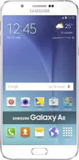 Flipkart offers on Mobiles - Samsung Galaxy A8 (White, 32 GB) 2 GB RAM