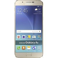 Shopclues offers on Mobiles - Samsung Galaxy A8 2GB RAM 32GB ROM Gold Refurbished