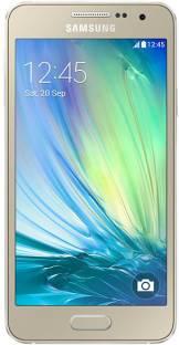 Flipkart offers on Mobiles - Samsung Galaxy A3 (Champagne Gold, 16 GB) 1 GB RAM