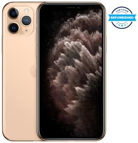 Paytmmall offers on Mobiles - Refurbished Apple iPhone 11 PRO MAX 4 GB 256 GB Gold (Grade: Excellent)