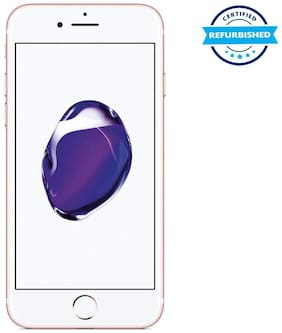 Paytmmall offers on Mobiles - Refurbished Apple iPhone 7 128GB Rose Gold (Grade: Excellent)