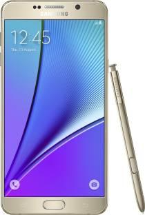 Flipkart offers on Mobiles - Samsung Galaxy Note 5 (Dual Sim) (Gold Platinum, 32 GB) 4 GB RAM