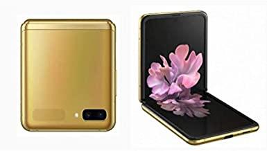 Amazon offers on Mobiles - Samsung Galaxy Z Flip (Mirror Gold, 8GB RAM, 256GB Storage)