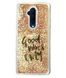 Snapdeal offers on Mobiles - OnePlus 7T Pro Glitter Shining Stars - Golden Liquid Glitter