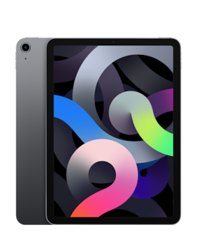 Paytmmall offers on Mobiles - Apple iPad Air (2020) 27.69 cm (10.9 inch) 64 GB Wi-Fi Only Space Grey