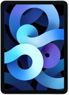 Flipkart offers on Mobiles - Apple iPad Air (4th Gen) 256 GB ROM 10.9 inch with Wi-Fi+4G (Sky Blue)