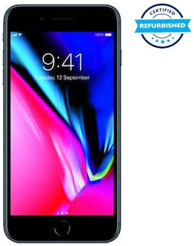 Paytmmall offers on Mobiles - Refurbished Apple Iphone 8 Plus 3 GB 64 GB Space Grey (Grade: Good)
