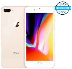 Paytmmall offers on Mobiles - Refurbished Apple iPhone 8 Plus 3 GB 64 GB Gold (Grade: Excellent)