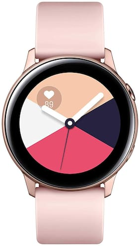 Paytmmall offers on Mobiles - Samsung Galaxy Watch Active SM-R500NZDAINU Smart Watch